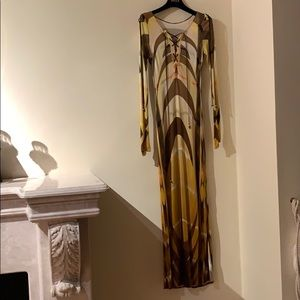 Emilio Pucci runway luxury gown dress